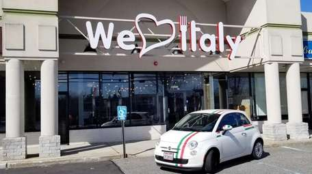 We Love Italy USA opens in Commack.