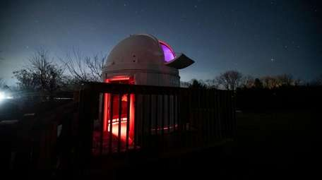 A view of the Susan F. Rose Observatory