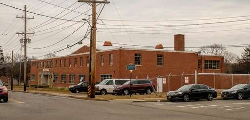 The Freeport Armory as seen on March 3,