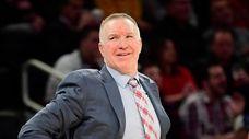 Head coach Chris Mullin of the St. John's