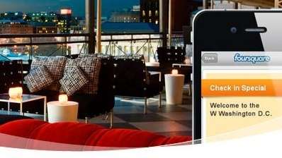 Starwood Hotels offers perks for Foursquare check-ins