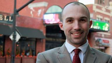 Will Ferraro, 35, of Selden is running on