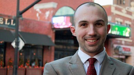 Will Ferraro, 35, of Selden is running on