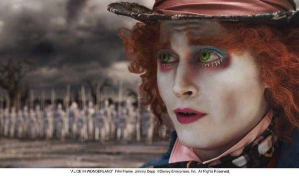 "The Mad Hatter, ""Alice in Wonderland"" (2010): Depp"