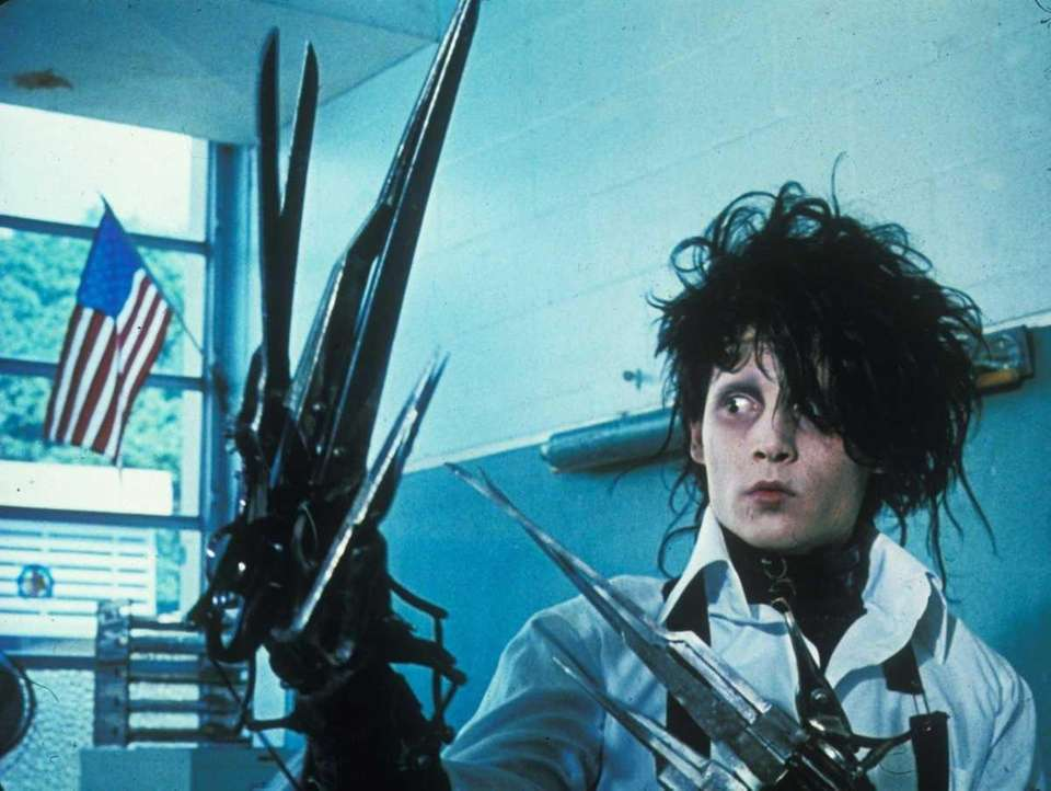 Edward Scissorhands (1990): The first of his many