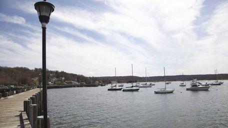Northport Harbor. (April 14, 2011)