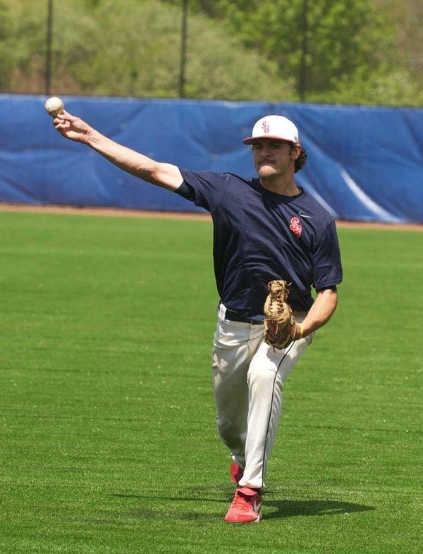 Stony Brook University baseball pitcher Nick Tropeano.