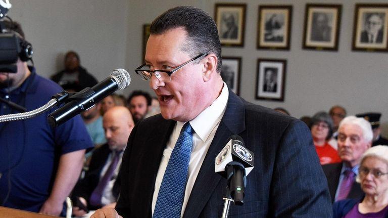 Democrat Samuel Gonzalez, seen in 2017, ran in