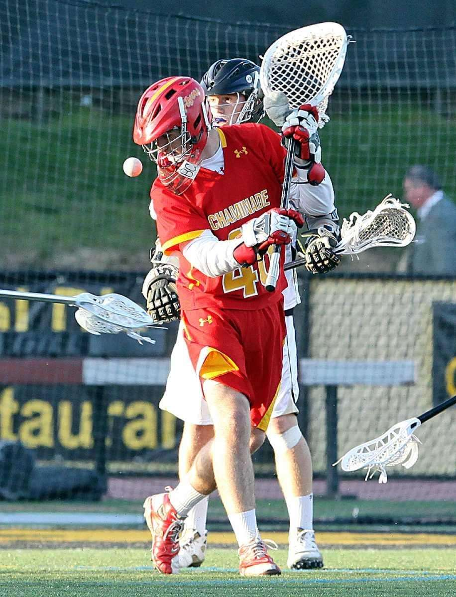 Another save by Chaminade's John Connors in the