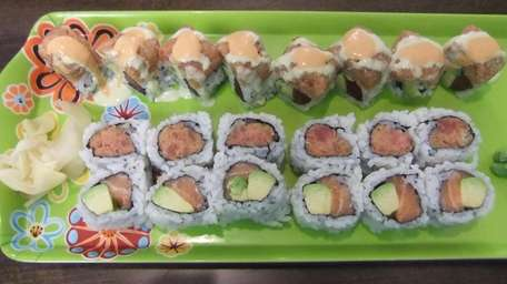 Maki rolls at Yume Sushi Cafe in Deer