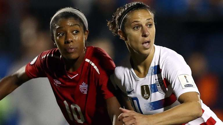 newest b13e0 f98aa Carli Lloyd not thrilled with being a reserve for USWNT in ...