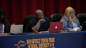 The Roosevelt school board voted at its meeting Tuesday