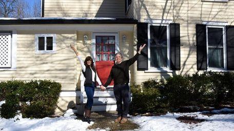 Lisa and Chuck Idol, at their Baxter Estates