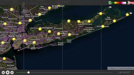 Look for clear skies Wednesday afternoon, Long Islanders.