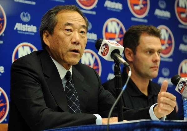 September 21, 2009 New York Islanders owner