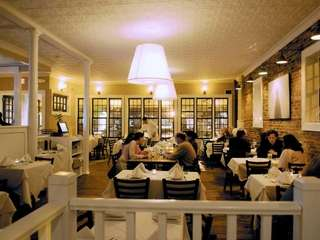 The dining room at Sag Harbor's new restaurant,