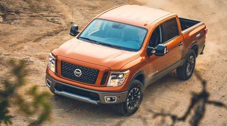 The 2019 Nissan Titan offers power and utility