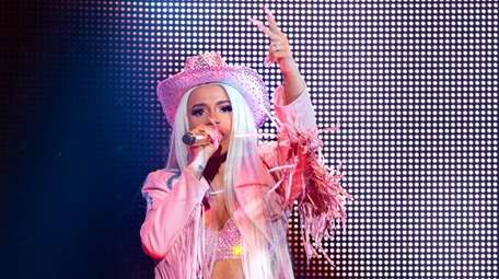 Rapper Cardi B performs at RodeoHouston on March