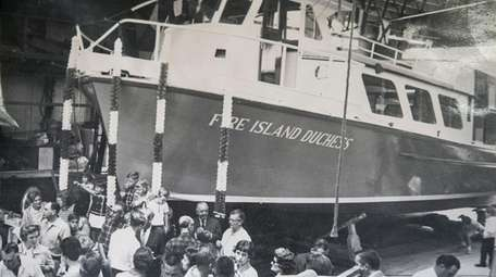 This is a 1964 Fire Island Dutchess ferry