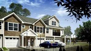 Rendering shows the type of multifamily housing proposed