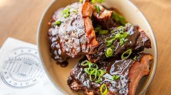 Mighty Quinn's Half Rack Baby Back Ribs. The