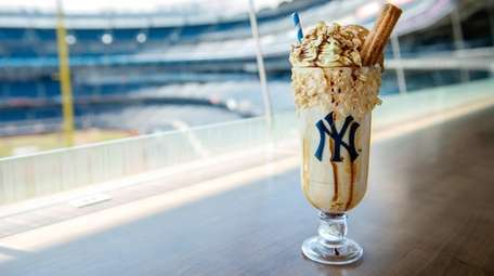 A Tres Leches Milkshake. The New York Yankees