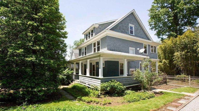 The Glen Cove home.