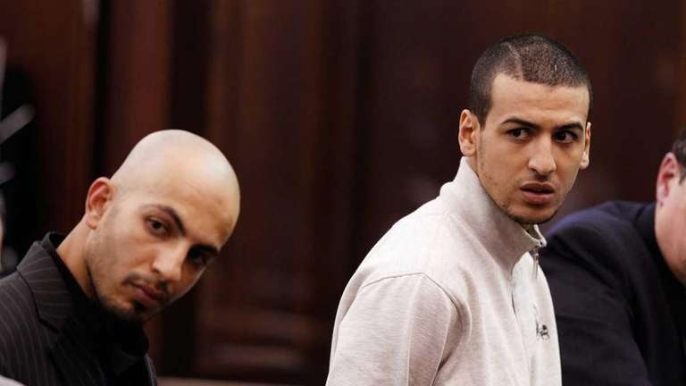 Ahmed Ferhani, left, 26, and Mohamed Mamdouh, 20,