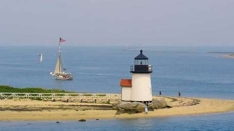 The Brant Point Lighthouse in Nantucket.