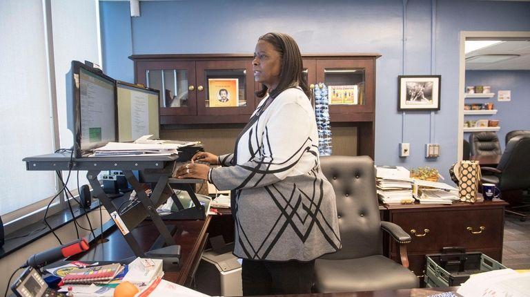 Marnie Hazelton, superintendent of the Roosevelt school district,