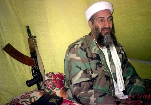 A file photo of al-Qaida leader Osama Bin