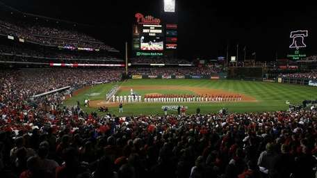 The NHL is reportedly eyeing Citizens Bank Ballpark