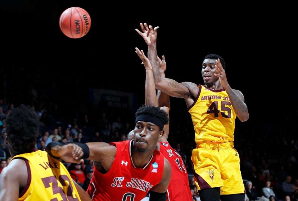 Zylan Cheatham #45 of the Arizona State Sun