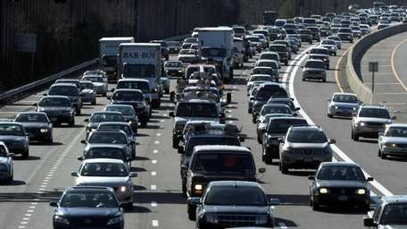 A file photo of traffic on the Long