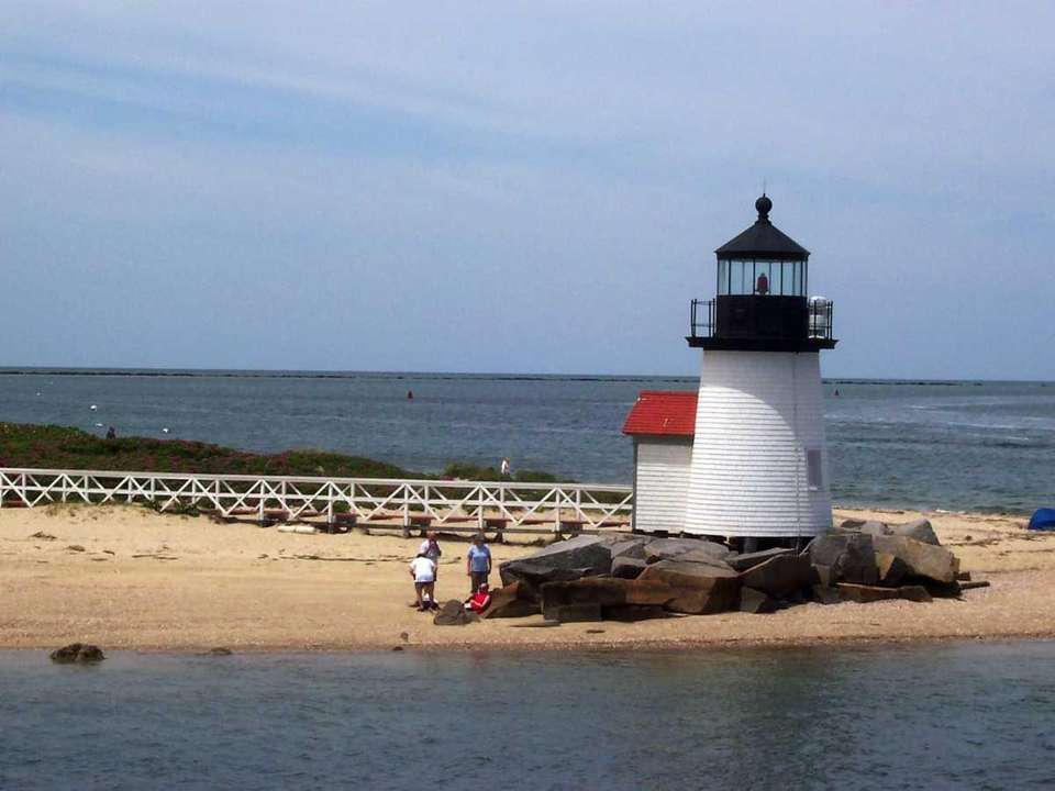 Brant Point Light, at the entrance to Nantucket