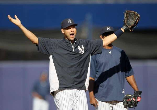 Derek Jeter of the New York Yankees during