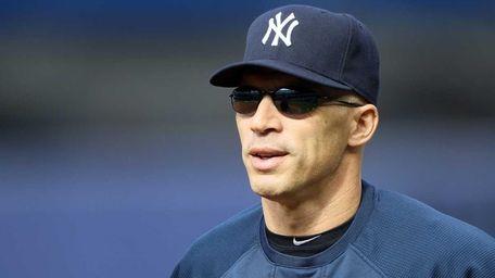 Joe Girardi of the New York Yankees during
