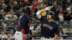 Kevin Youkilis #20 of the Boston Red Sox