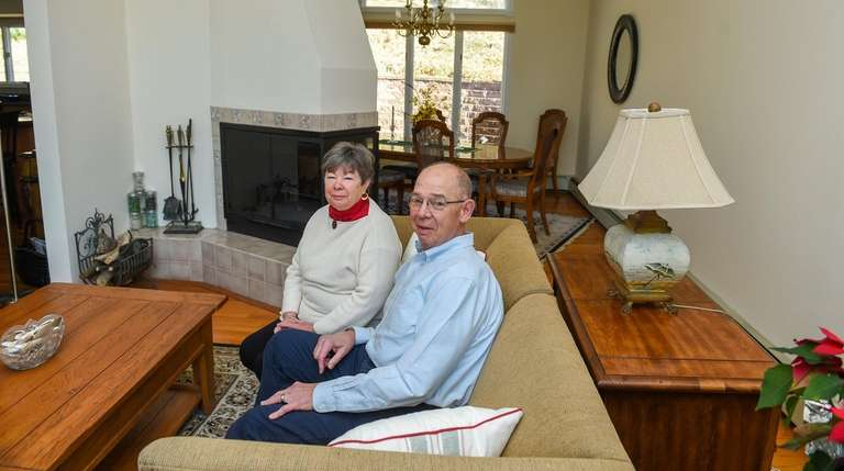 Kathy and Tom McCarthy at their Eatons Neck