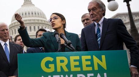 Rep. Alexandria Ocasio-Cortez, a Democrat from New York,