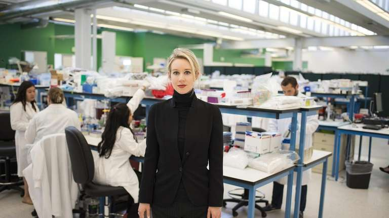 "Elizabeth Holmes in HBO's ""The Inventor: Out for"