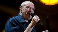 Phil Collins performs at Palacio de los