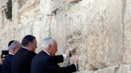 Israeli Prime Minister Benjamin Netanyahu, U.S. Secretary of