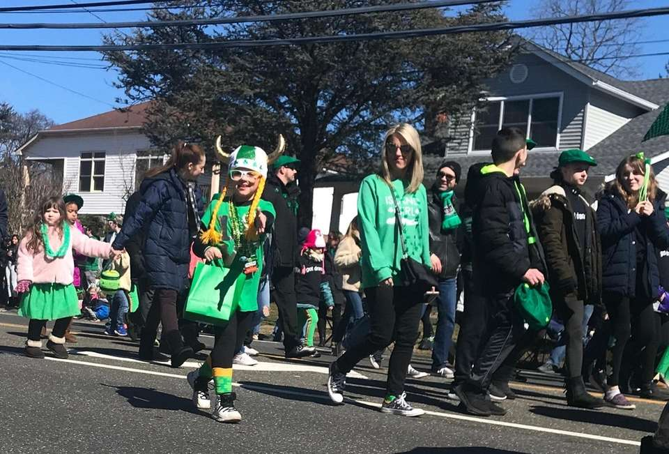 Wantagh held its first St. Patrick's Day parade.
