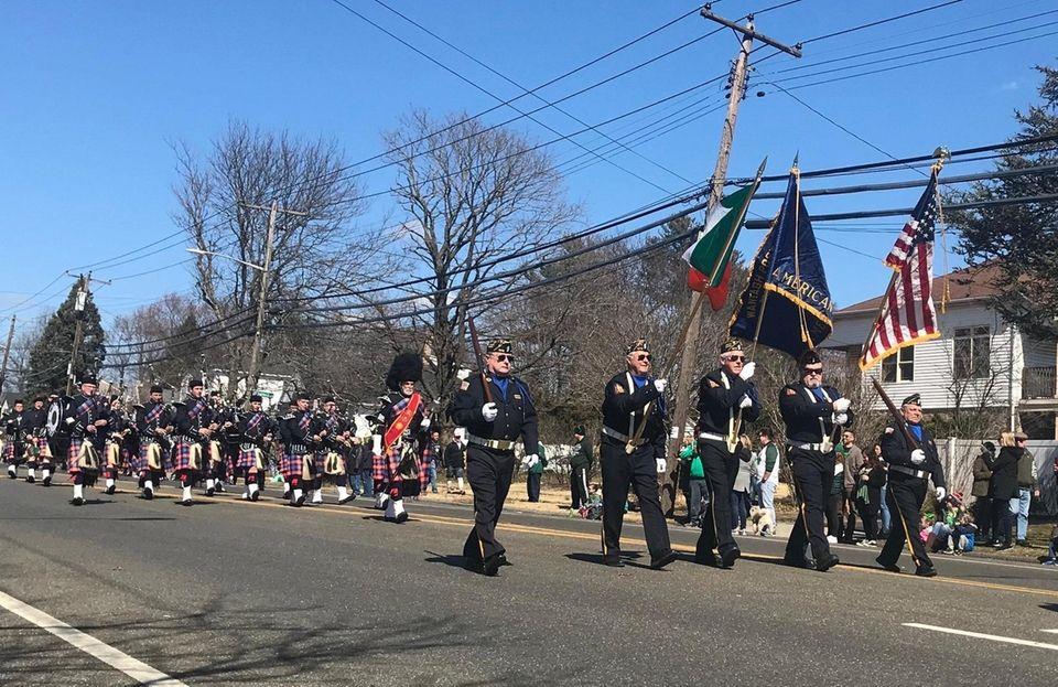 Wantagh held its inaugural St. Patrick's Day parade.