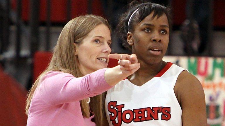 St. John's women's basketball coach Kim Barnes Arico