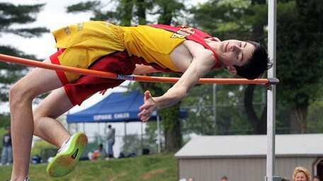 Chaminade's Mike Rufrano attempts a jump in the