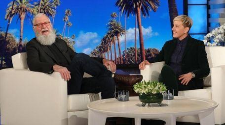 Legendary late-night host David Letterman makes his very