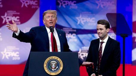 President Donald Trump and conservative activist Hayden Williams