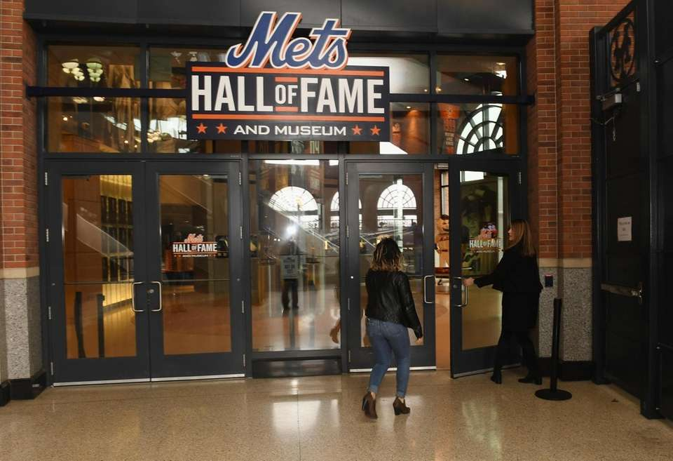 The entrance to the New York Mets Hall